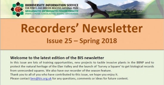 BIS Recorders Newsletter Spring 2018